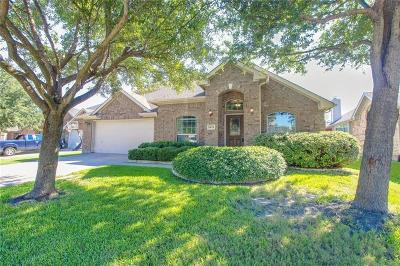 Wylie Single Family Home Active Option Contract: 1418 Bessie Drive