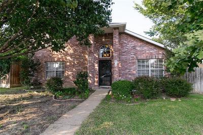 Sachse Single Family Home Active Option Contract: 2717 Southridge Drive