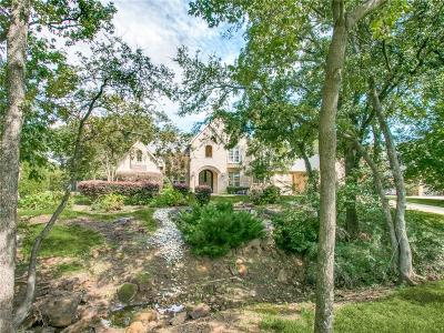 Flower Mound Single Family Home For Sale: 5300 Clear Creek Drive