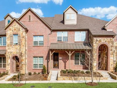 McKinney Townhouse For Sale: 5212 McPherson Lane