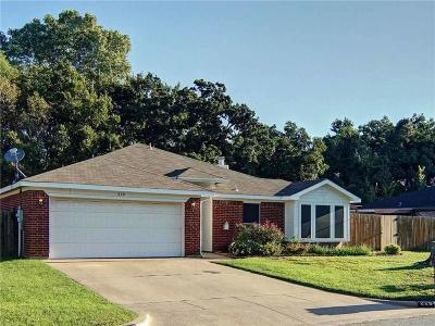 Weatherford Single Family Home For Sale: 229 King Arthur Drive