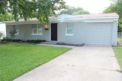 Mesquite Single Family Home Active Option Contract: 425 Birchwood Circle