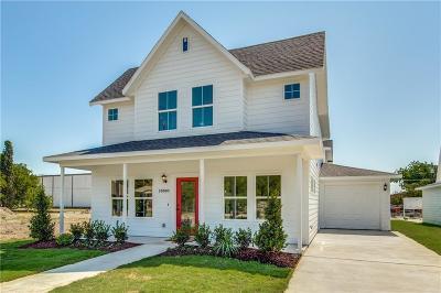 McKinney Single Family Home For Sale: 1000 N Kentucky Street #A