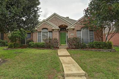 Irving Single Family Home For Sale: 318 Touchdown Drive