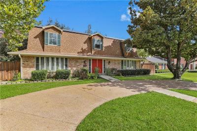 Dallas Single Family Home Active Option Contract: 10136 E Lake Highlands Drive