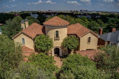 Irving Single Family Home For Sale: 1709 Cottonwood Valley Circle S