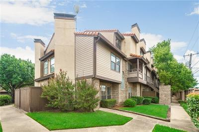 Dallas Condo Active Option Contract: 5757 E University Boulevard #27N