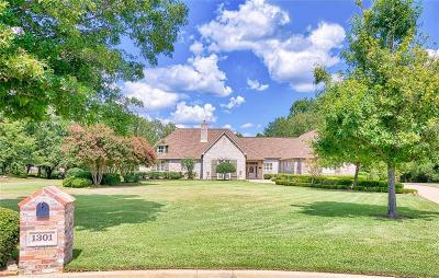Tyler Single Family Home For Sale: 1301 Hermitage Court
