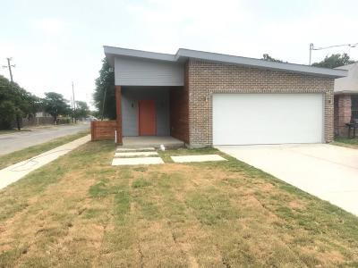 Dallas Single Family Home For Sale: 3700 Pueblo Street