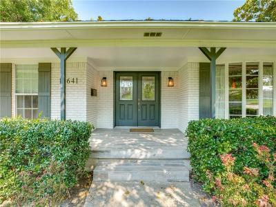 Dallas, Fort Worth Single Family Home For Sale: 13641 Far Hills Lane