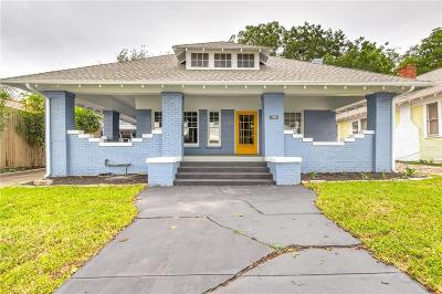 Fort Worth Single Family Home For Sale: 3124 Travis Avenue