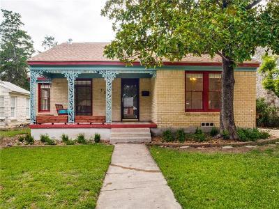 Dallas Single Family Home For Sale: 1338 Cedar Oaks Boulevard