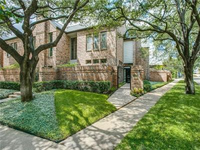 Highland Park, University Park Single Family Home Active Option Contract: 4409 Westside Drive