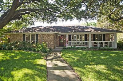 Dallas Single Family Home For Sale: 11148 Carissa Drive