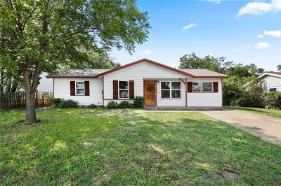 Euless Single Family Home Active Option Contract: 605 Freestone Drive