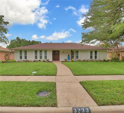 Dallas, Fort Worth Single Family Home For Sale: 3233 Catamore Lane