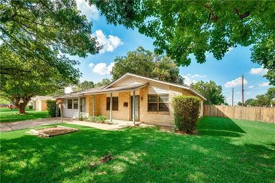 Garland Single Family Home For Sale: 1401 McDonald Drive