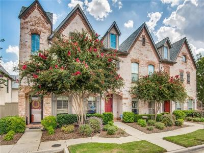 McKinney Townhouse For Sale: 1917 Cortez Lane
