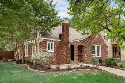 Dallas Single Family Home For Sale: 302 S Windomere Avenue