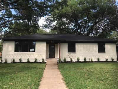 Dallas Single Family Home For Sale: 2505 Dorrington Drive