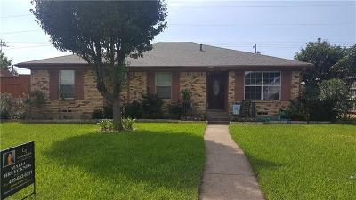 Richardson Single Family Home For Sale: 1630 University Drive
