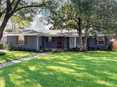 Dallas Single Family Home For Sale: 3646 Ingleside Drive