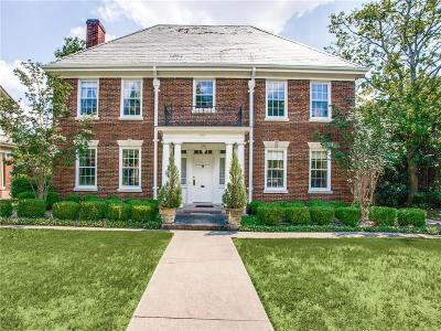 Dallas Single Family Home For Sale: 5310 Live Oak Street