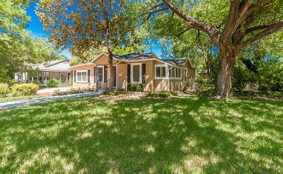 Fort Worth Single Family Home For Sale: 3800 Oaklawn Drive