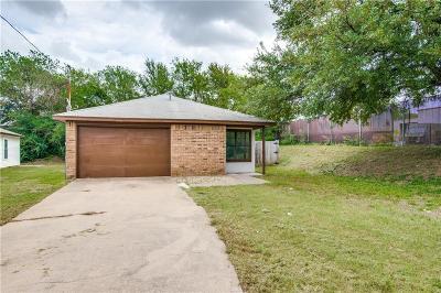 Denton Single Family Home Active Option Contract: 1045 Ramey Circle