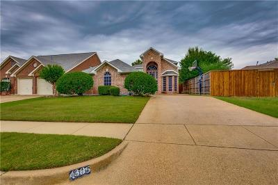 Rowlett Single Family Home For Sale: 4305 Greenwood Trail