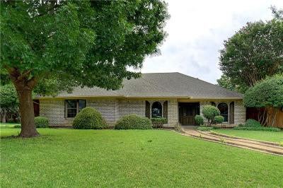 Carrollton Single Family Home Active Kick Out: 2808 Staffordshire Drive