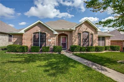Mesquite Single Family Home For Sale: 1721 Chapman Drive