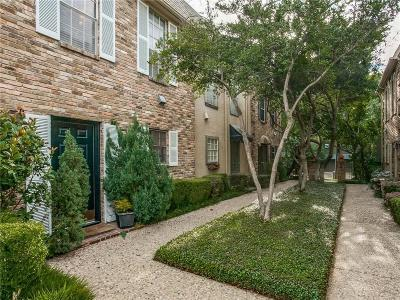 Dallas Condo For Sale: 4017 Buena Vista Street #119