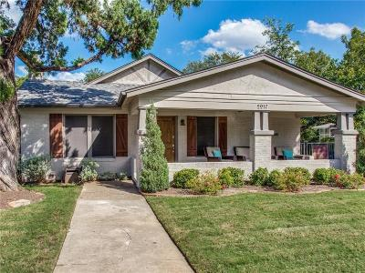 Fort Worth Single Family Home For Sale: 2017 Clover Lane