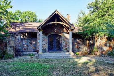Dallas Single Family Home For Sale: 1505 El Campo Drive