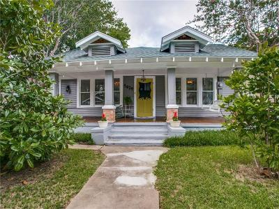 Dallas Single Family Home For Sale: 5429 Worth Street