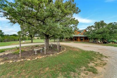 Archer County, Baylor County, Clay County, Jack County, Throckmorton County, Wichita County, Wise County Single Family Home For Sale: 1638 County Rd 3381