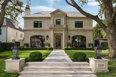 University Park Single Family Home For Sale: 3533 Villanova Street