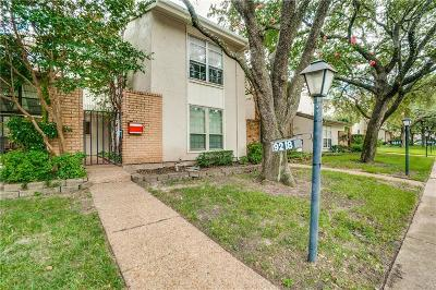 Dallas Townhouse For Sale: 9218 Flickering Shadow Drive