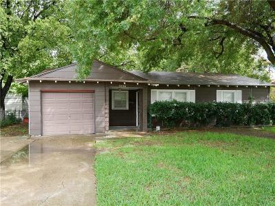 Garland Single Family Home For Sale: 3036 Daniel Drive