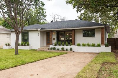 Dallas Single Family Home For Sale: 4026 Valley Ridge Road