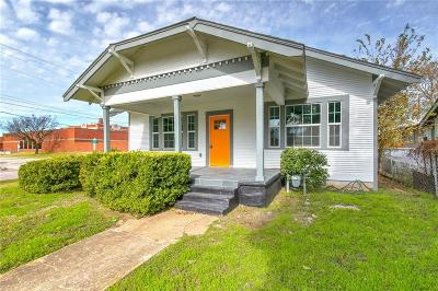 Dallas, Fort Worth Single Family Home For Sale: 1114 Orange Street