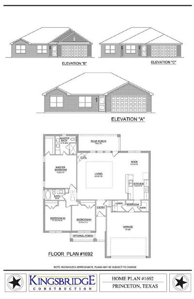 Princeton Single Family Home For Sale: Tbd Prairie Creek Drive