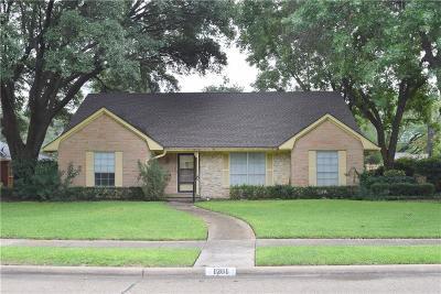 Richardson Single Family Home For Sale: 1201 Seminole Drive