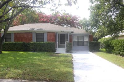 Dallas Single Family Home For Sale: 10811 Stallcup Drive