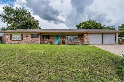 Weatherford Single Family Home For Sale: 1421 Eastview Drive