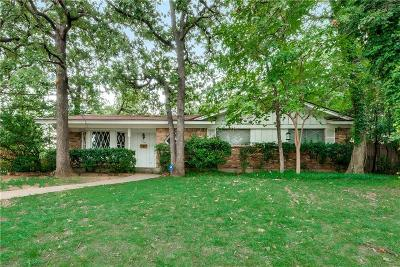 Hurst Single Family Home For Sale: 1001 Trailwood Drive