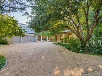 Dallas Single Family Home For Sale: 4707 Wildwood Road