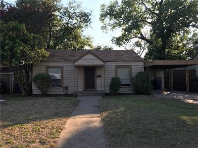 Dallas Single Family Home For Sale: 2621 Easter Avenue