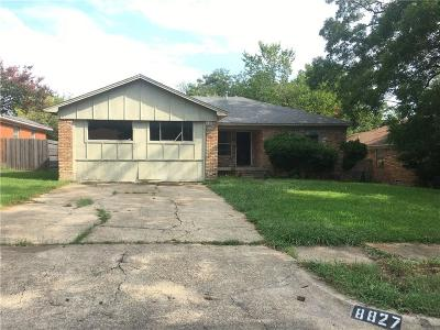 Dallas Single Family Home For Sale: 8827 Jennie Lee Lane